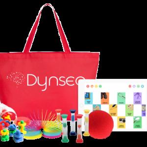 Image jeux, tablette et sac Dynseo