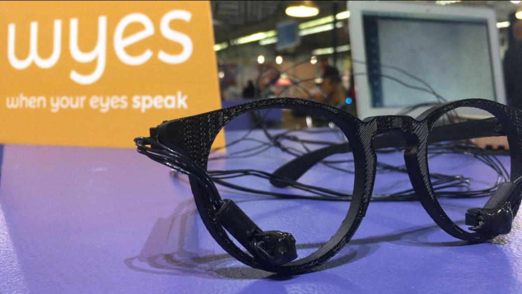 Diapo 2 : Image des lunettes Wyes