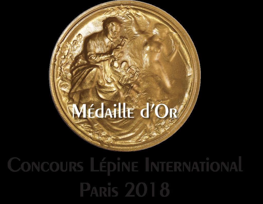 Diapo 4 : Médaille_d'or_wyes_Concours_Lépine_2018 (002)