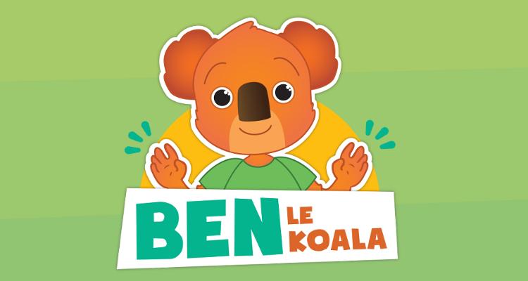 Diapo 2 : image représentant ben le koala