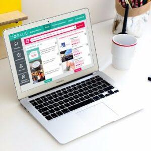 Image de l'interface de Mobalib sur un ordinateur