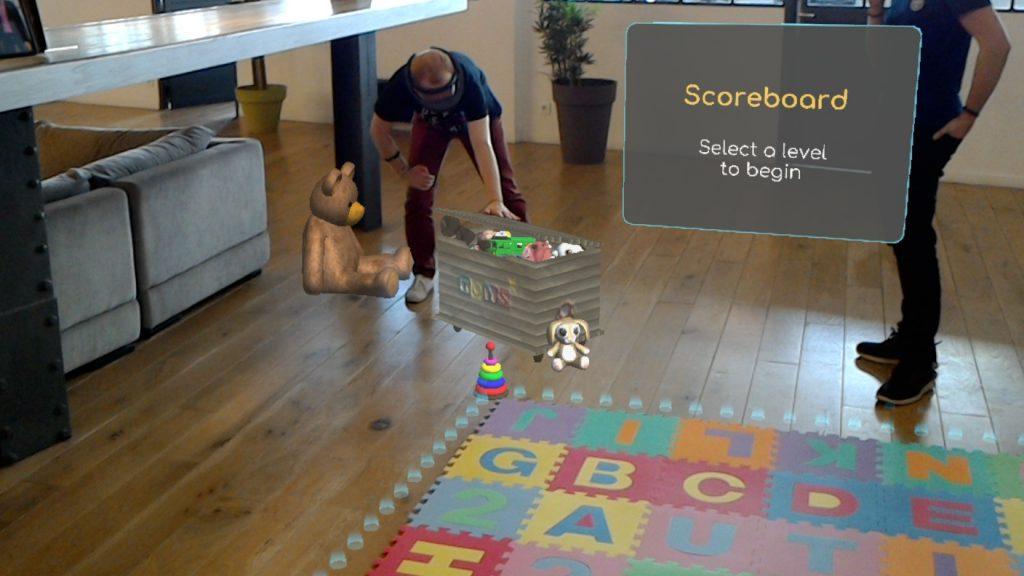 Diapo 4 : HolAutisme PopBalloons HoloLens