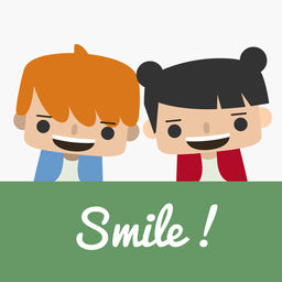logo application smile