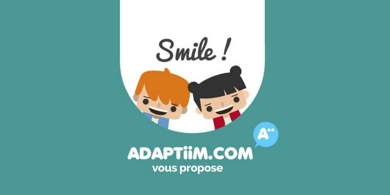 Diapo 4 : photo représentant l'application smile
