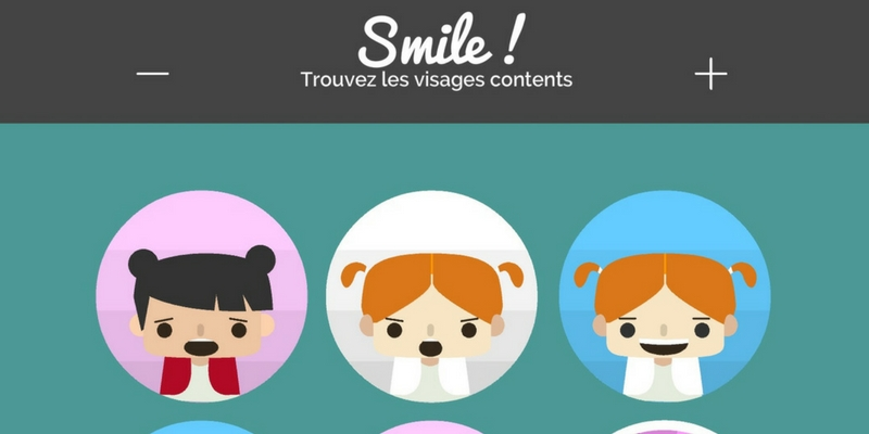 Diapo 3 : smile visages contents