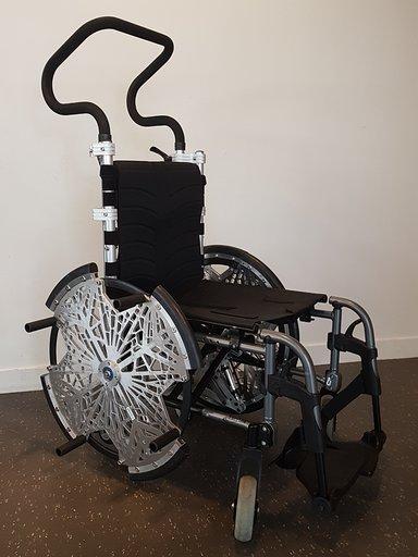 Diapo 3 : photo représentant le fauteuil ruby