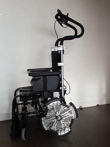 Diapo 2 : photo représentant le fauteuil saphyr