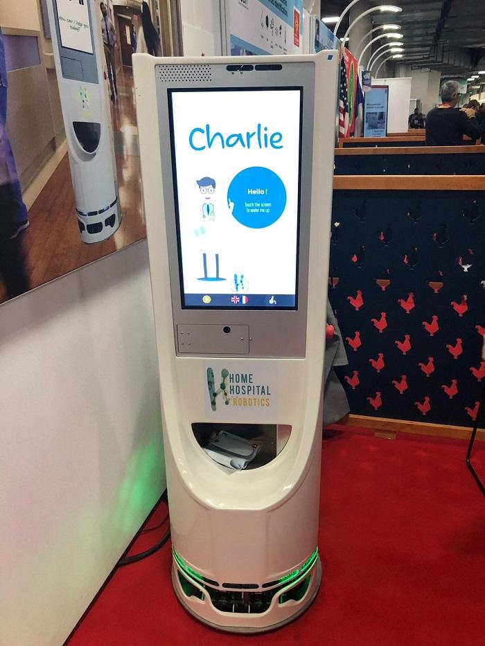 Diapo 3 : Photo du robot Charlie