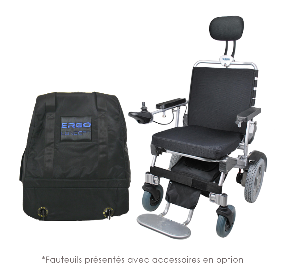 Diapo 2 : photo qui représente un des fauteuils roulants ergoconcept