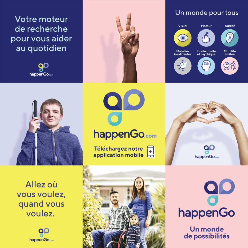 Diapo 2 : une affiche de HappenGo