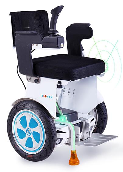 Diapo 3 : le fauteuil boosty