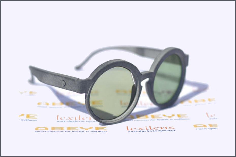 Diapo 2 : Exemple de forme et couleur des lunettes crées par Abeye