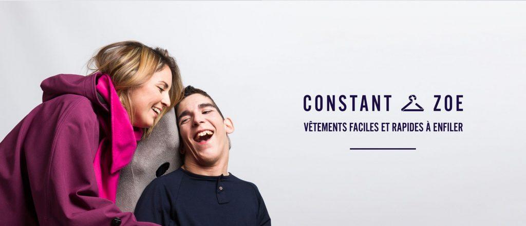 Diapo 4 : Constant le premier utilisateur et Sarah la créatrice de la marque