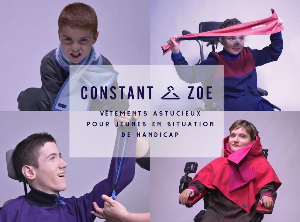 Diapo 3 : 4 mannequins de la marque Constant et Zoé