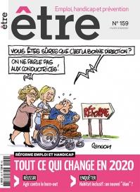 Une du numéro 159 du magazine «Être».  Numéro sur les annonces faites pour l'année 2020.