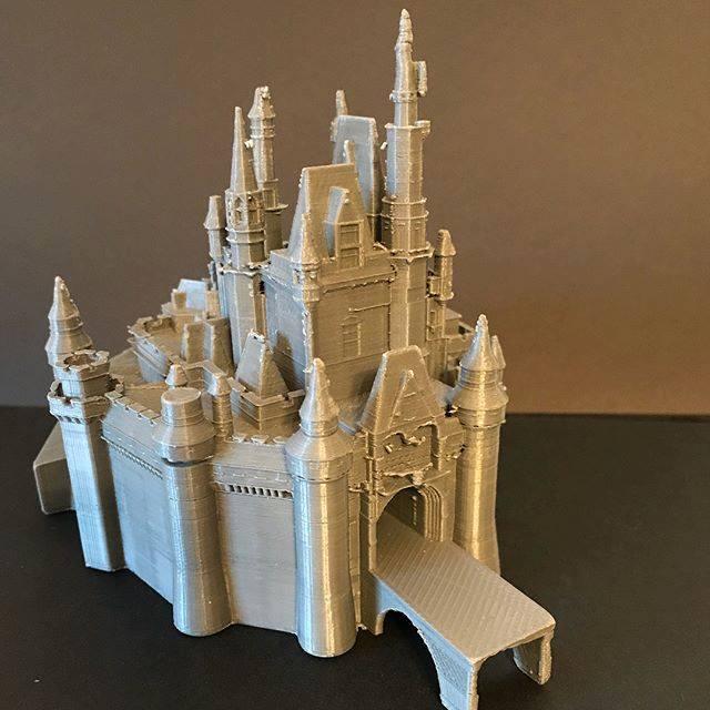 Diapo 5 : Château de Cendrillon en 3D