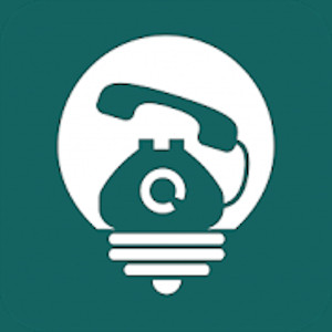 Logo de Jib Calls, un téléphone dans une ampoule
