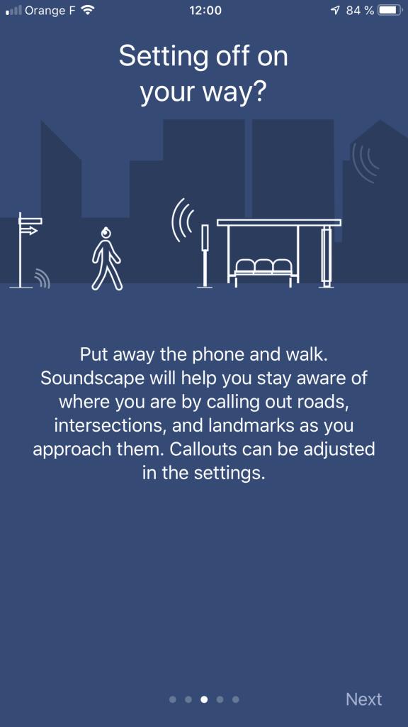 Diapo 4 : L'application permet de ranger son téléphone car elle vous prévient lorsque vous arrivez sur une intersection