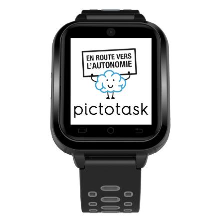 Diapo 2 : La montre connectée avec PictoTask