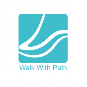 Logo de Walk With Path, entreprise créatrice du Path Finder