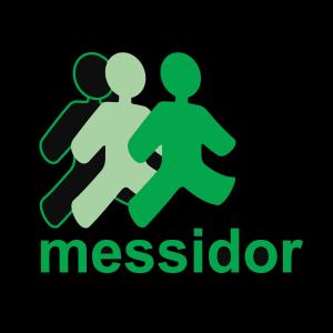 Logo de Messidor sur fond noir
