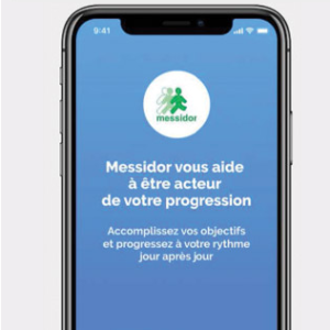 Page d'accueil de l'application Verry'Appli