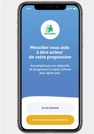 Diapo 4 : Page d'accueil de l'application Verry'Appli
