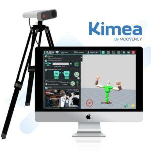 Image du logiciel Kimea sur un écran