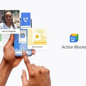 Personne utilisant Action Blocks