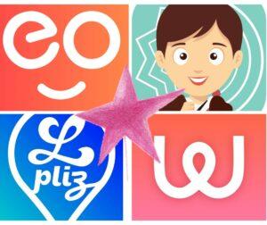Image avec le logo de Lpliz, MyCharlotte, Wikiboop, Cleo et Migraine Buddy