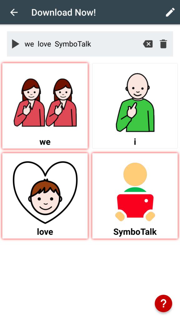 Diapo 4 : weLoveSymboTalk
